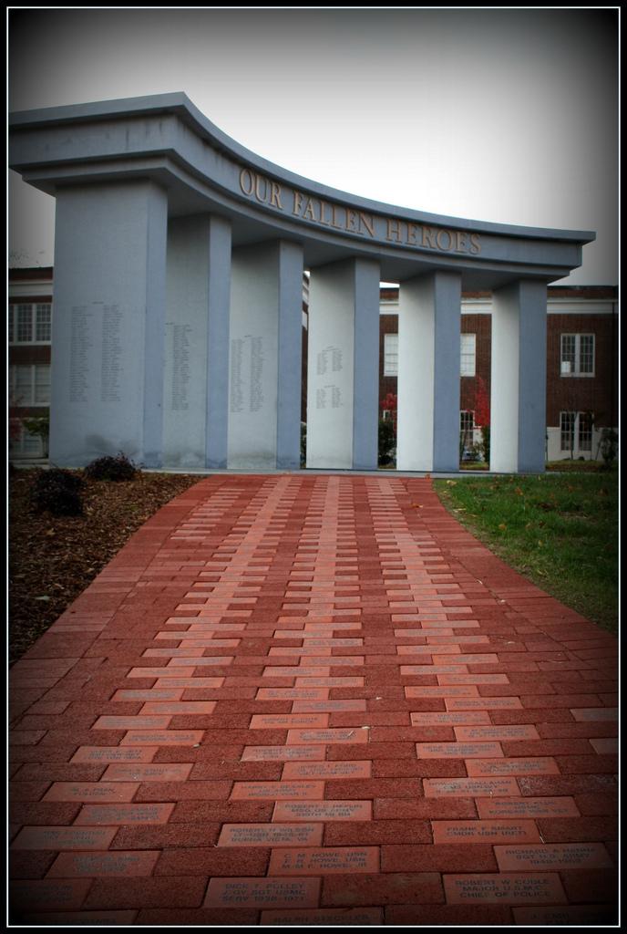 Fredericksburg War Memorial