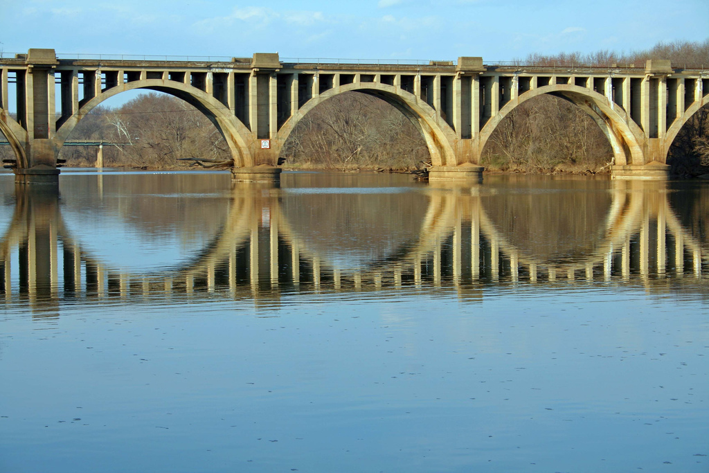 Bridge over the Rappahannock River