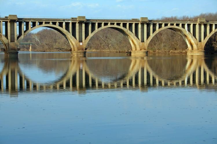 Bridge over the Rappahannock River
