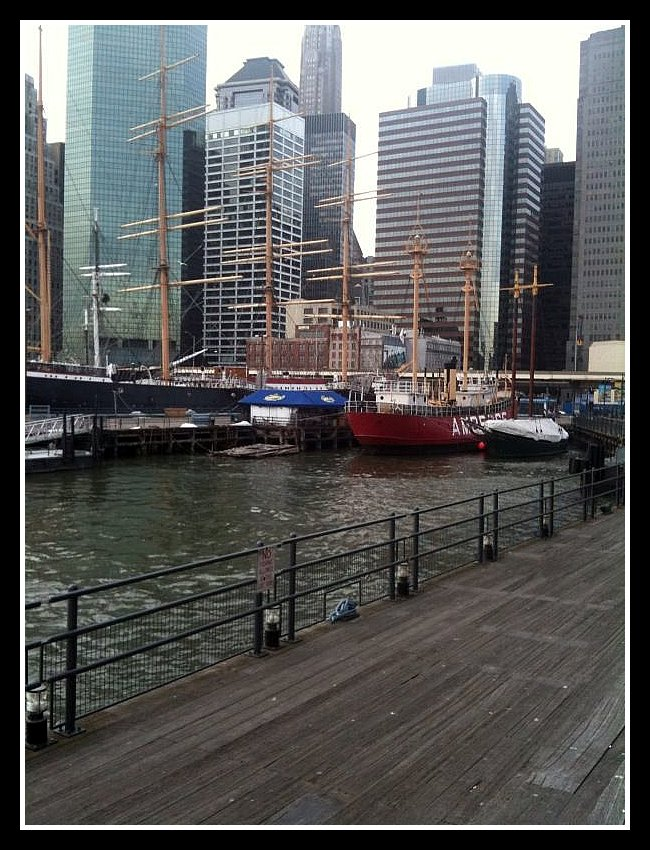 Tall Ships Pier 17 NYC