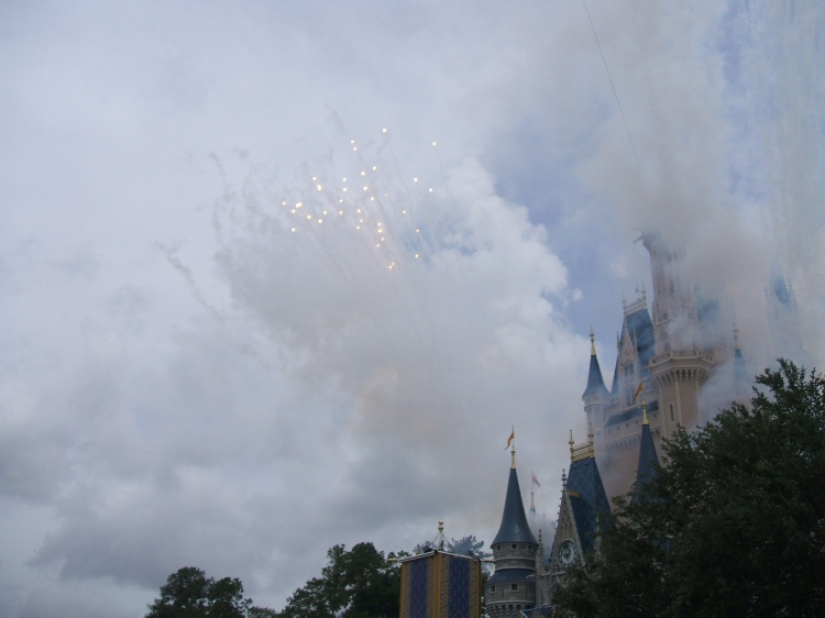 Clouds over Disney