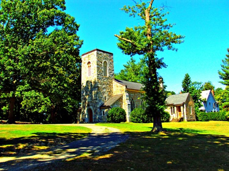 Church in rural Virginia