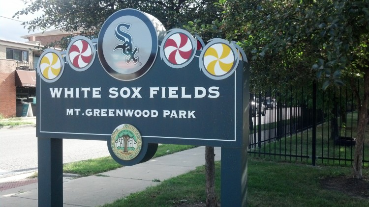 Chicago White Sox fields @ Mt. Greenwood Park on the Southside.
