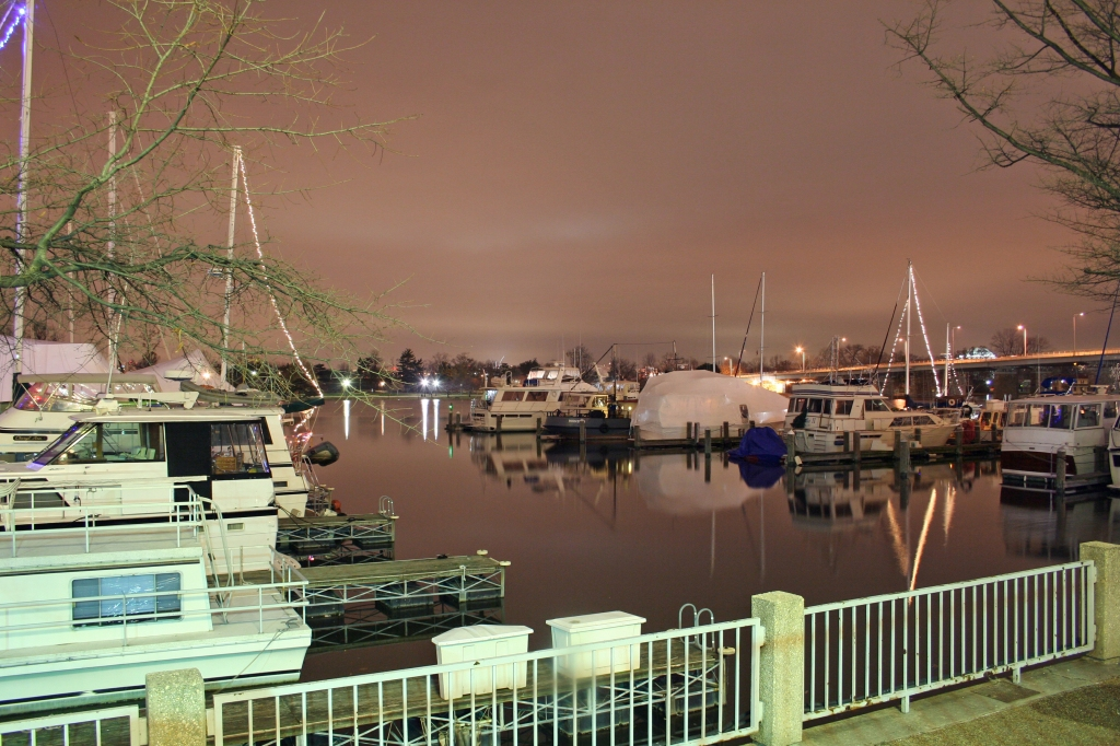 Washington, D.C. Harbor at night